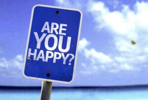 Bist Du glücklich?